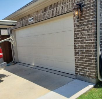 Almond Garage Door Frisco